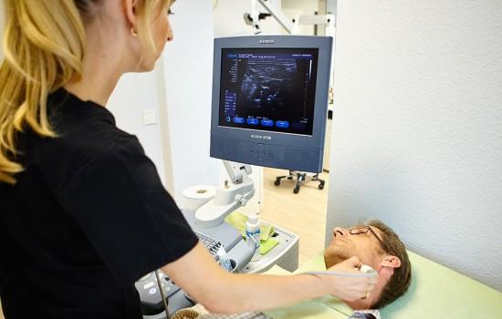 hno-ultraschalluntersuchung